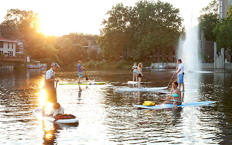 Surf Reston on Lake Anne in Reston, Virginia