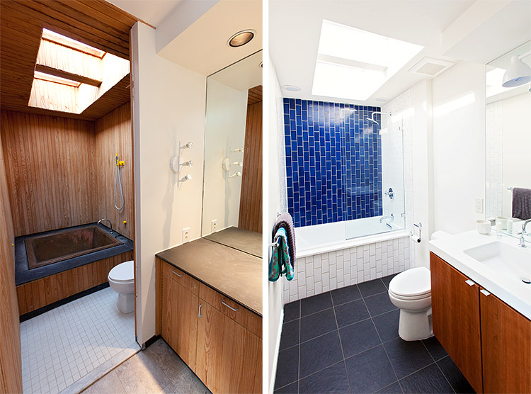 Before After A Dingy 1970s Bathroom, 70s Bathroom Remodel