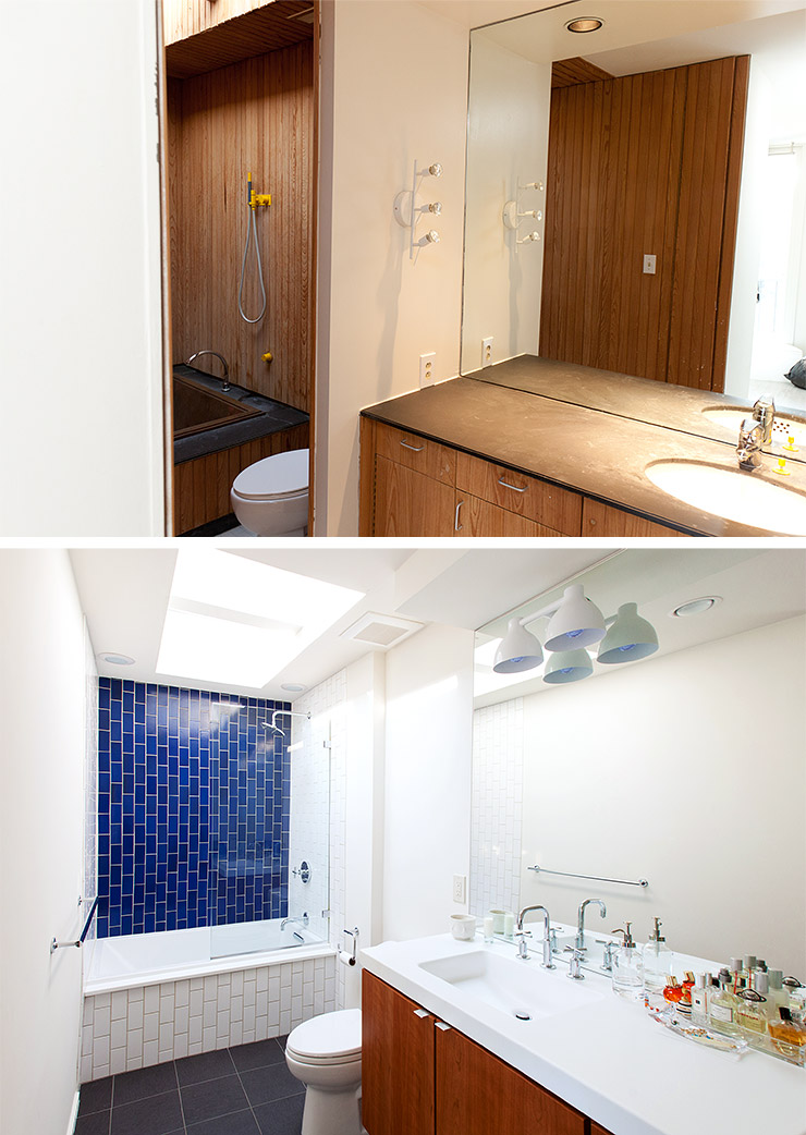 Before Amp After A Dingy 1970s Bathroom Becomes Bright And