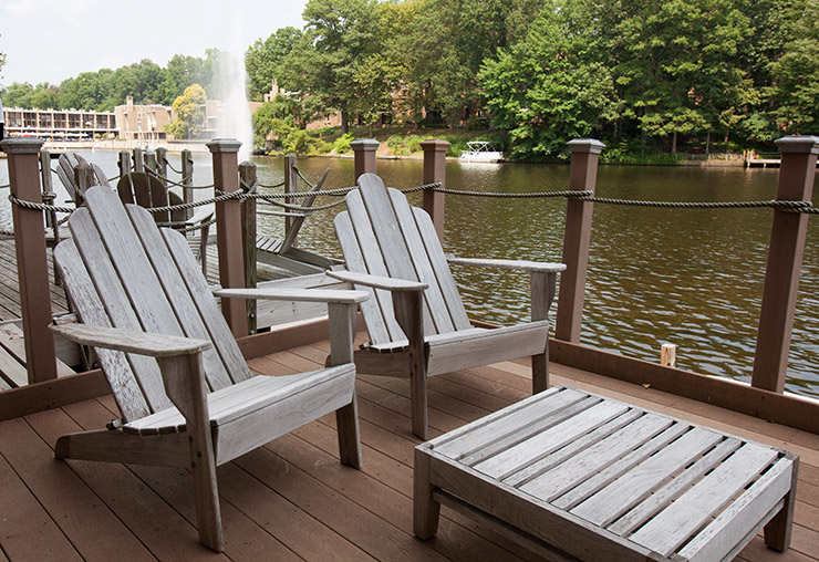 Dock in Waterview Cluster in Reston, Virginia