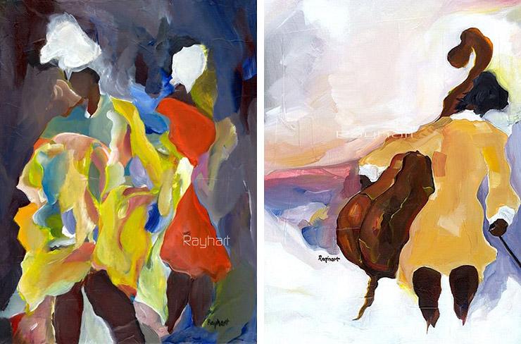 Paintings by Rayhart