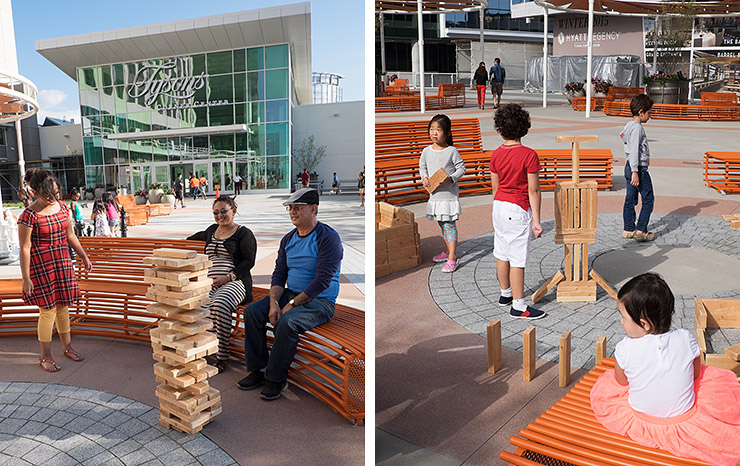 Jenga at the Plaza at Tysons Corner Center