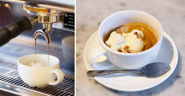 Affogato at Pitango Gelato in Reston