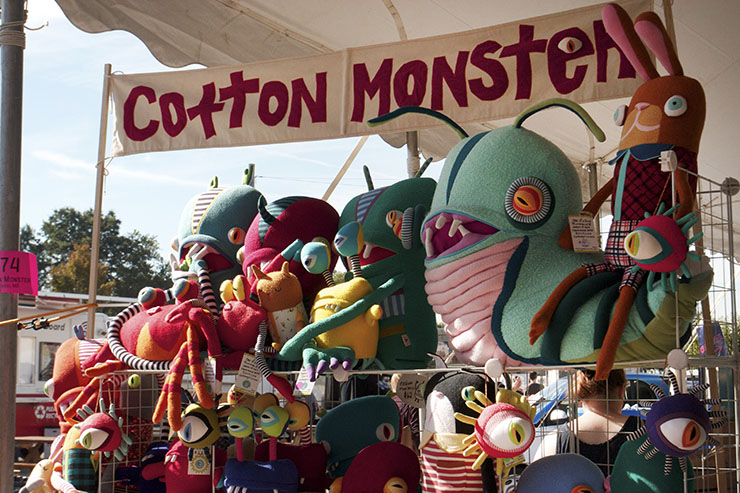 Cotton Monster Crafty Bastards DC metro Union Market