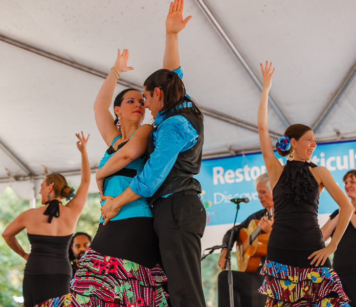 Reston Multicultural Festival dancers