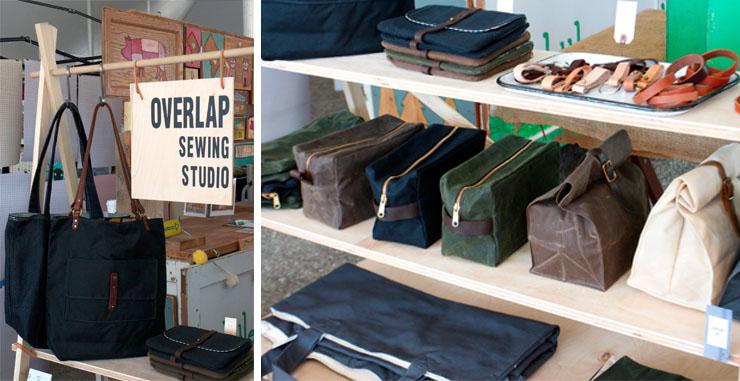 bags Overlap Sewing Studio Union Market DC Metro Crafty Bastards