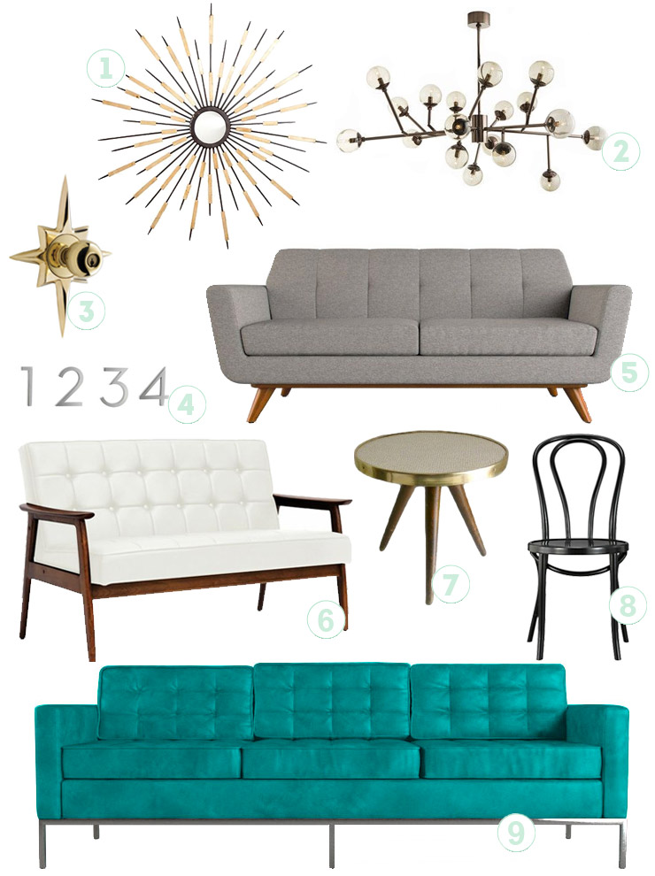 mid century modern decor - Mid Century Decor