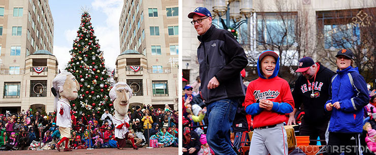Reston Holiday Parade 2014