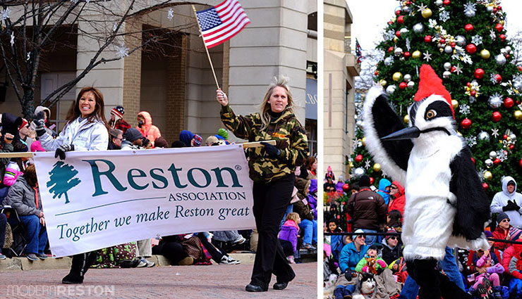 Reston Association in the Reston Holiday Parade