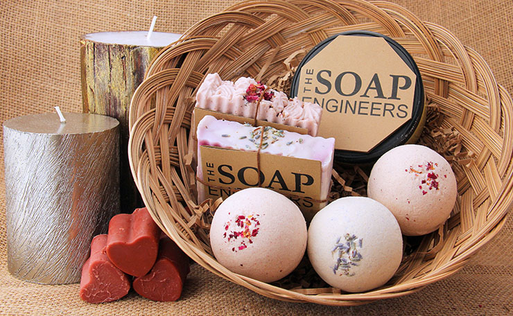 Gift Basket - For those who loves baths (2)