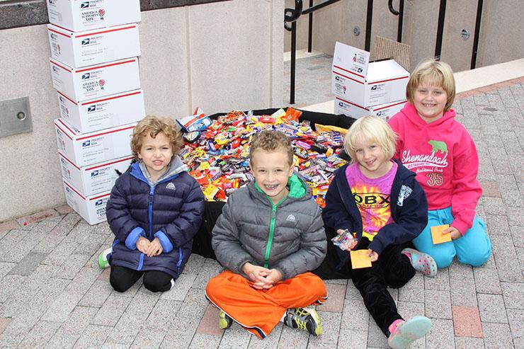 Halloween candy buy-back in Reston, Virginia