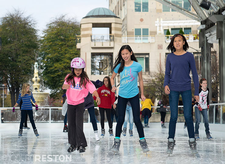 construction-of-Reston-Town-Center-ice-skating-warm-weather