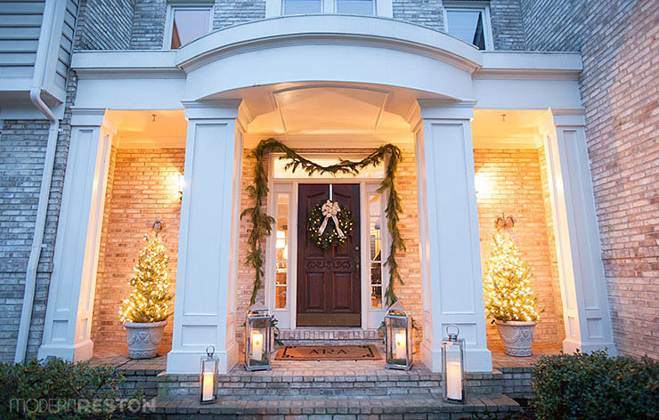Reston holiday home tour - Christmas home decor