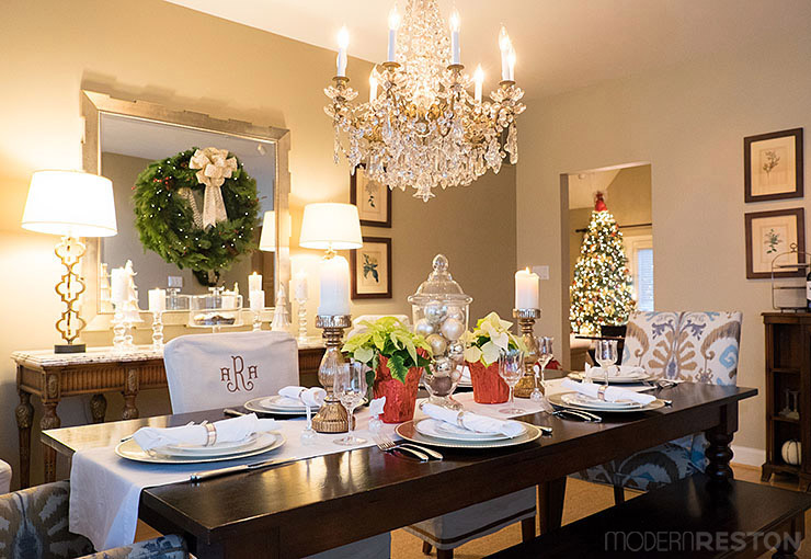 Holiday Home Tour Allison S Classic Christmas Elegance