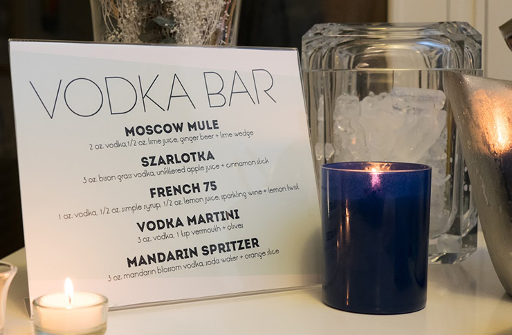 Latke Vodka Hanukkah Party Modern Reston