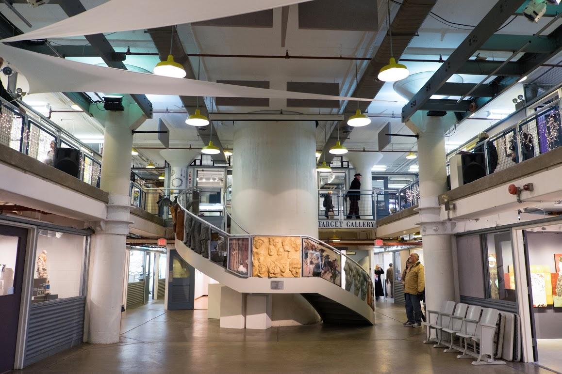 indoor fun  tour the open art studios at the torpedo factory