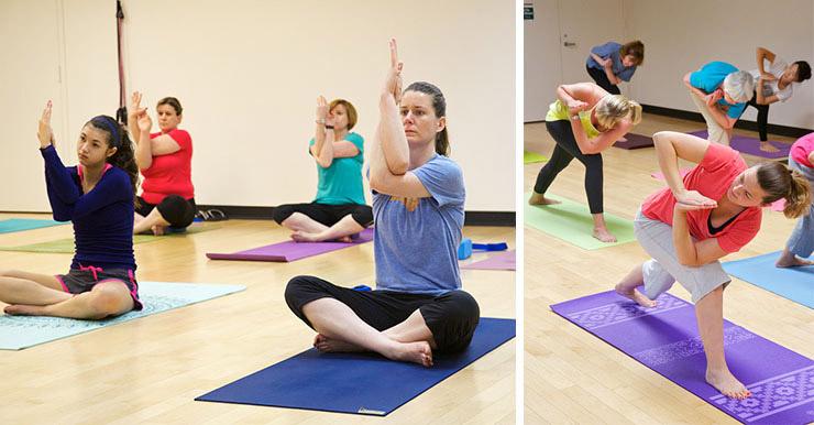 Reston Community Center yoga classes