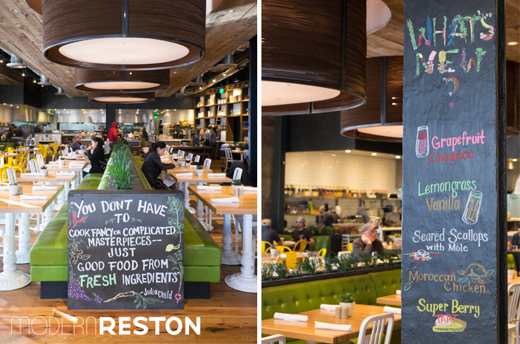 true food kitchen fairfax mosaic district merrifield modern reston - True Food Kitchen Mosaic