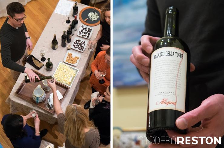 Wine Cabinet Reston Tasting Pairing Modern