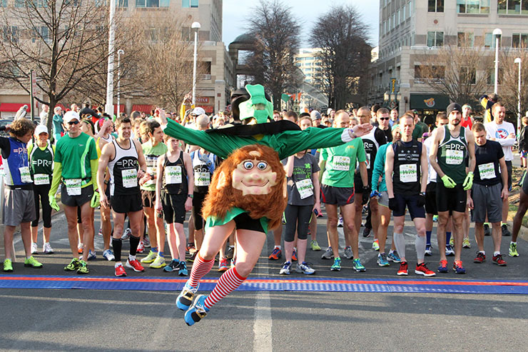 St. Patricks Day in Reston, Virginia. Photo by Craig Hunter Ross.