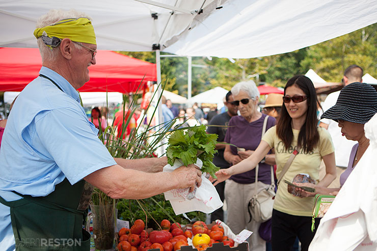 Reston Farmers Market at Lake Anne