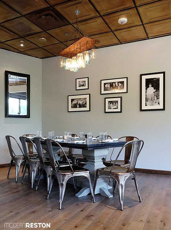 A Sneak Peek At The Beautiful And LongAwaited Reds Table - Red's table reston virginia