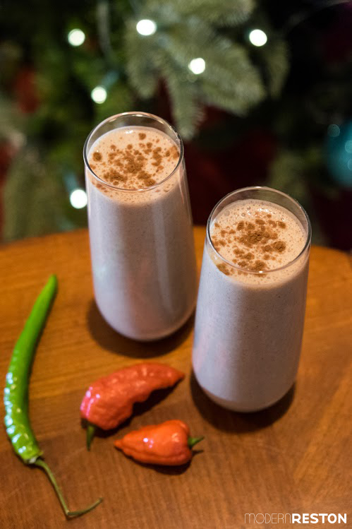 Mexican Chocolate eggnog