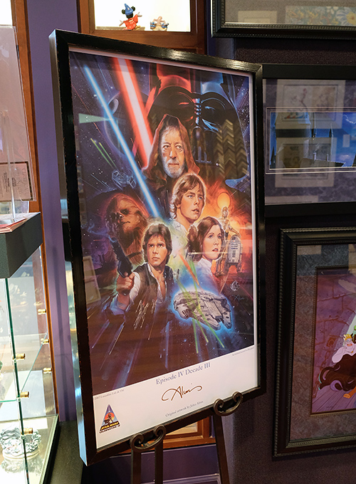 Star Wars poster by John Alvin