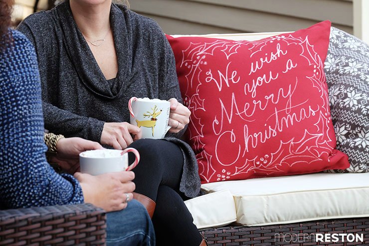 Outdoor Christmas decorations for patio
