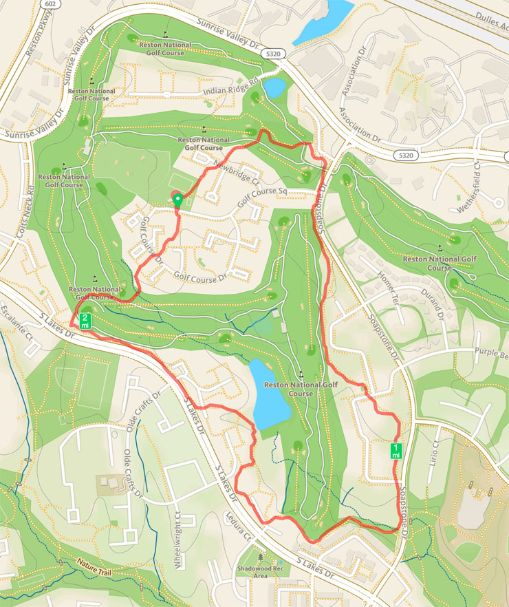 Reston-National-Golf-Course-trail-tour-map