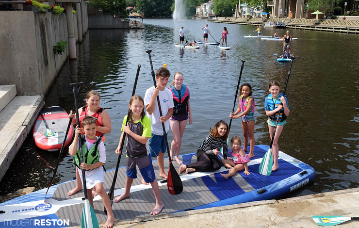 Reston-paddleboarding-Lake-Anne-13