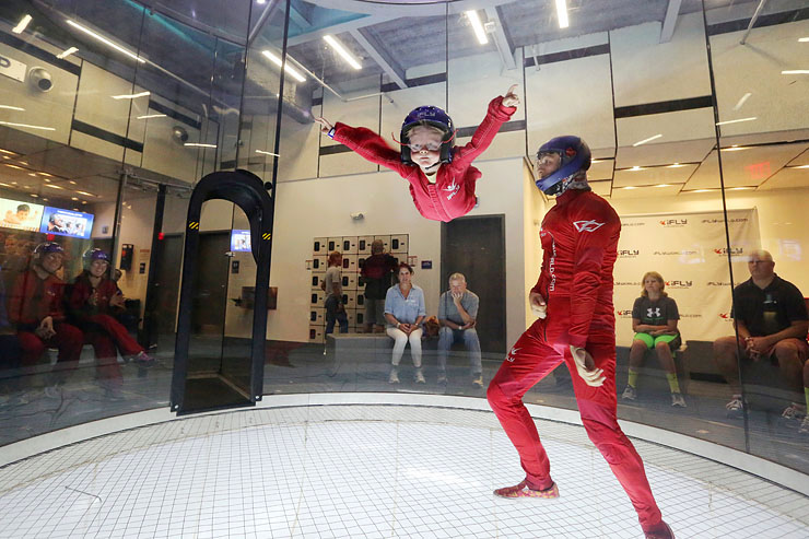 We Tried It: Indoor Skydiving at iFLY Loudoun