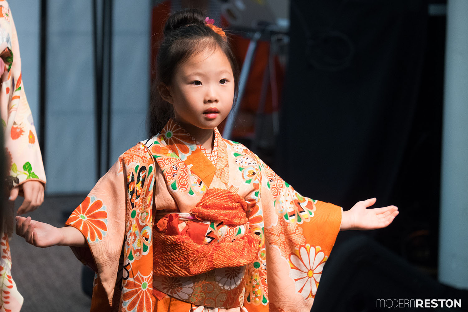 Japanese Culture Club (Kimono fashion show)