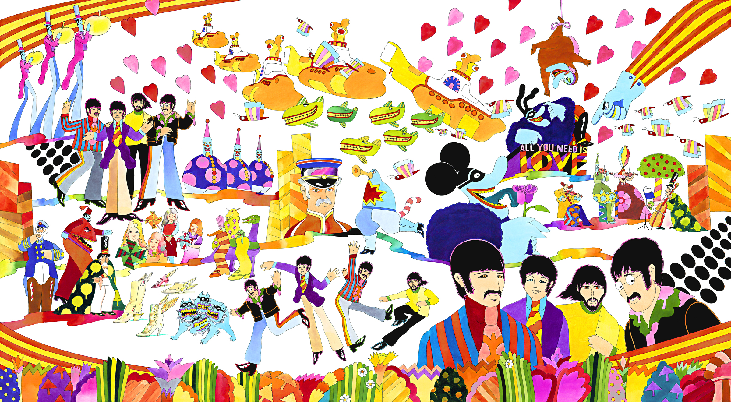 Pepperland by Ron Campbell