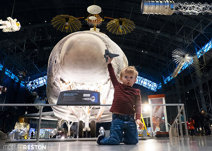 The Smithsonian's Udvar-Hazy Air and Space Museum