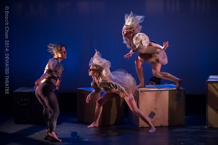 DEVIATED THEATRE dance company, photo by Enoch Chan