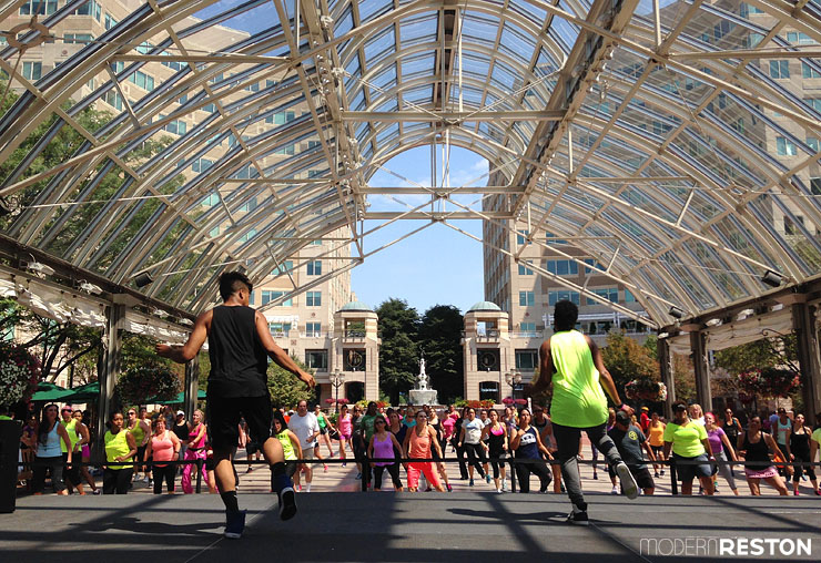 Zumba-at-Reston-Town-Center