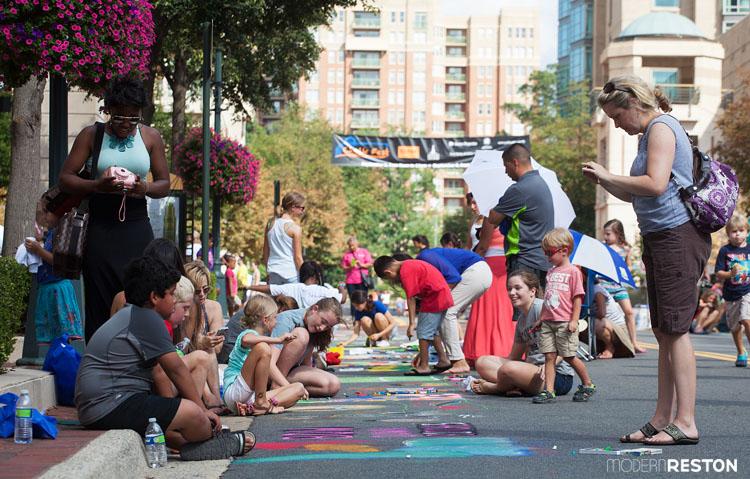 Chalk-fest-at-Reston-Town-Center
