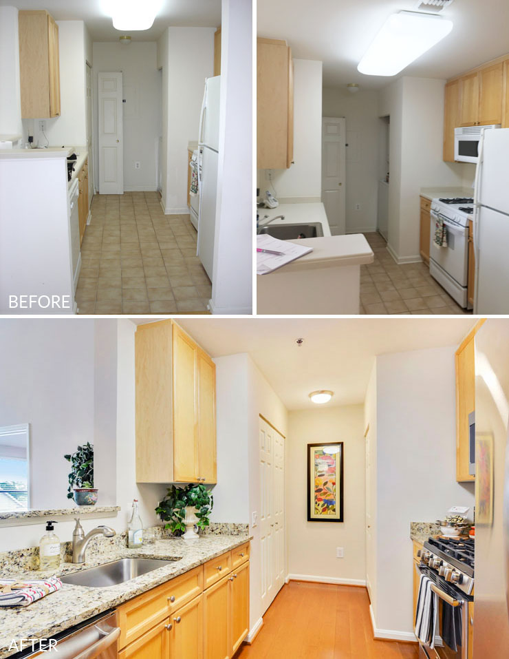 Reston-condo-staging-5-kitchen-before-after