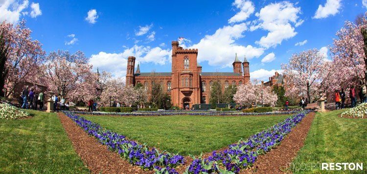 Smithsonian-Castle-National-Mall