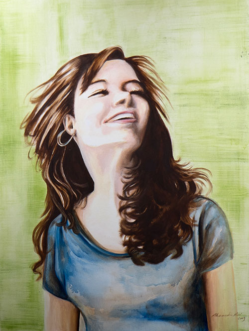 """Lighthearted"" by Alessandra Ricci - League of Reston Artists"