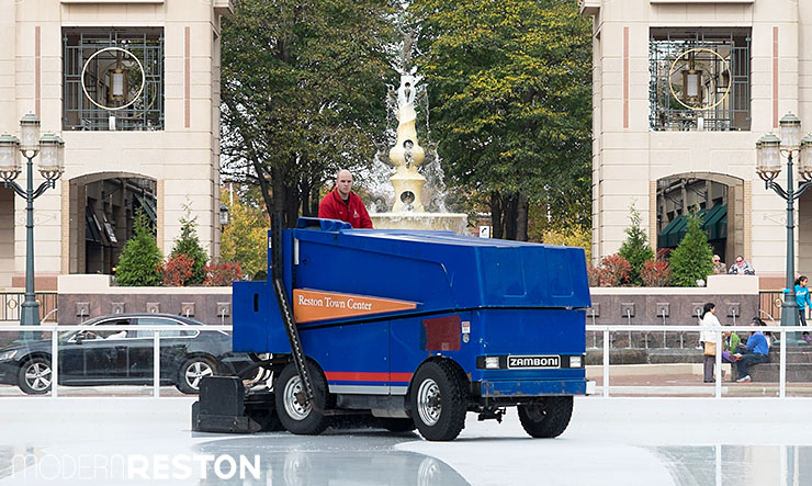 Reston Town Center Zamboni
